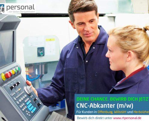CNC-Abkanter in Offenburg, Willstätt und Herbolzheim gesucht