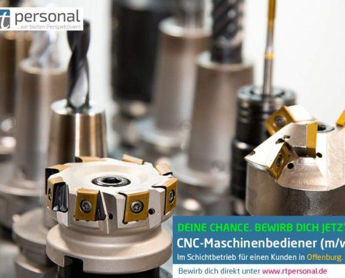 CNC-Maschinenbediener in Offenburg gesucht