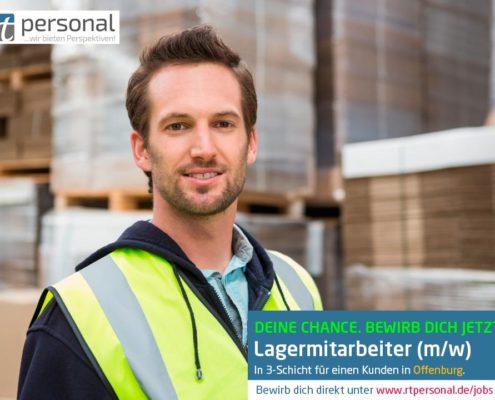 Stellenangebot Lagermitarbeiter in Offenburg