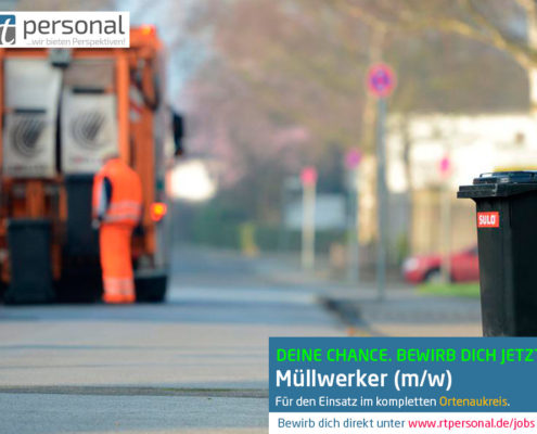 Stellenangebot Müllwerker Ortenaukreis
