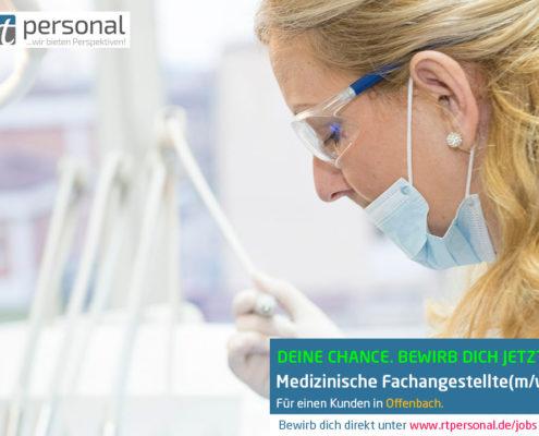 Stellenausschreibung medizinische Fachangestellte Offenbach Frankfurt